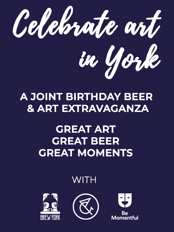 Birthday Beer and Art Extravaganza | Be Momentful